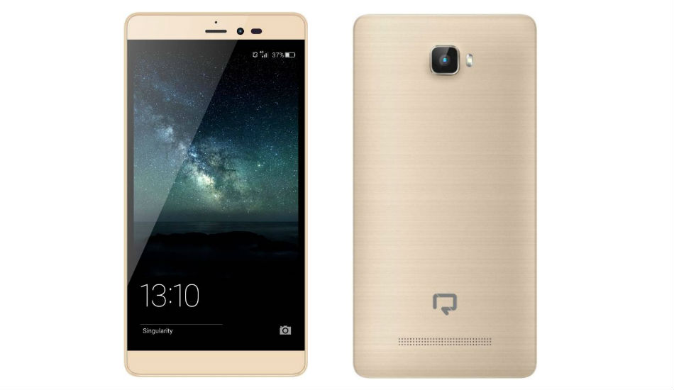Reach Allure Rise 4G VoLTE smartphone with 5.5-inch display, Android Nougat launched at Rs 5,499