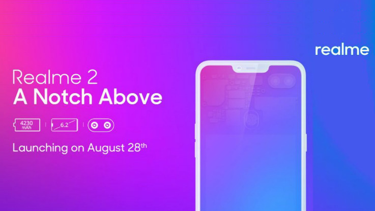 Realme 2 to come in three variants
