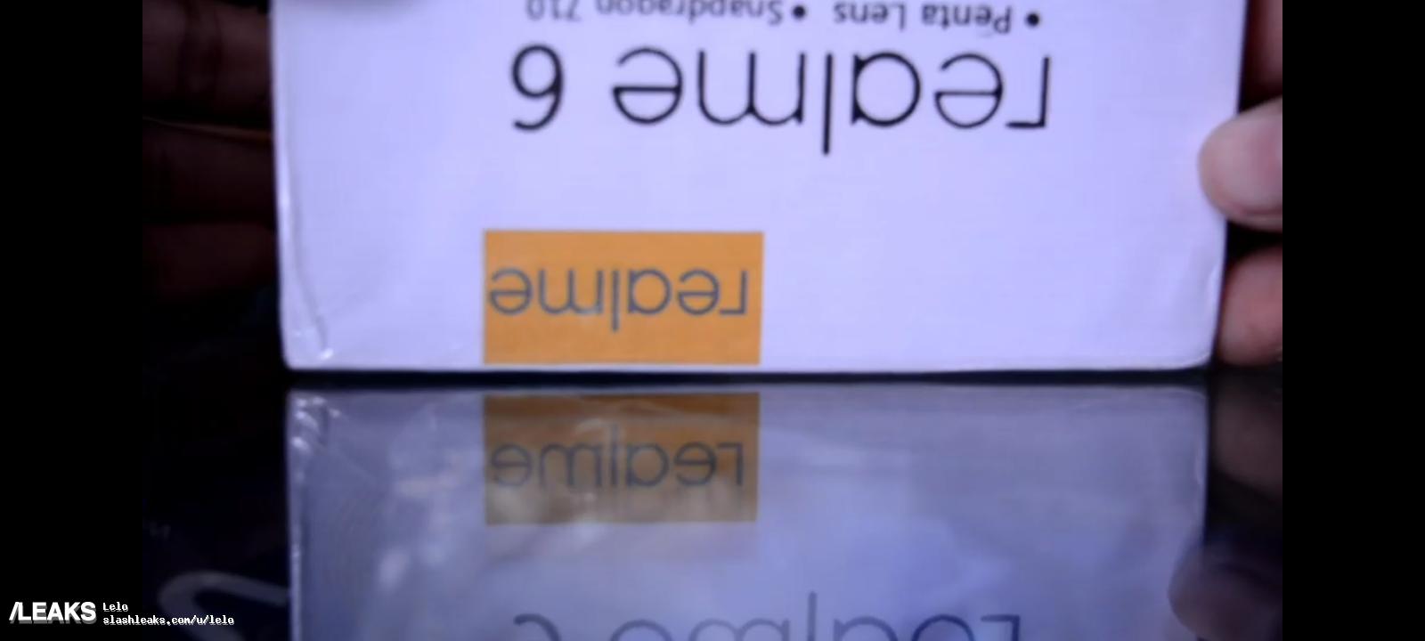 Realme 6 retail box leaked, reveals penta-lens setup and Snapdragon 710