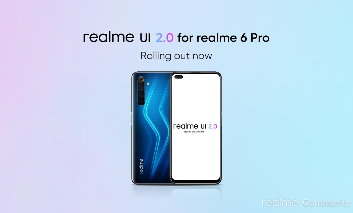 Realme 7 Pro, Realme 6 Pro get Android 11 based Realme UI 2.0 update