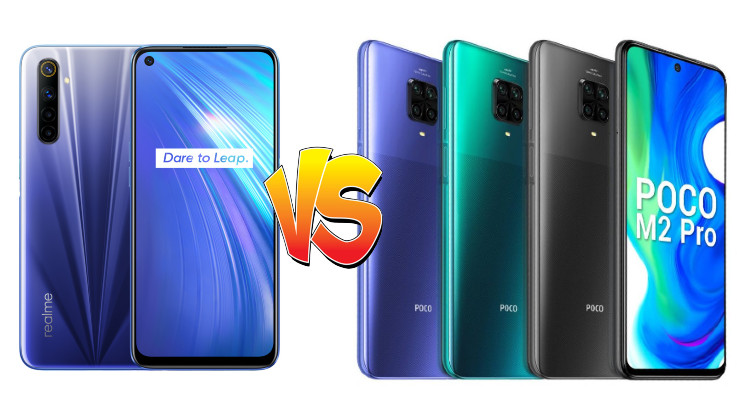 Is Realme 6 a better option than Poco M2 Pro?