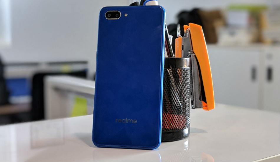 Realme C1 in Pictures