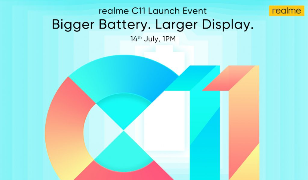 Realme C11 confirmed to launch in India on July 14