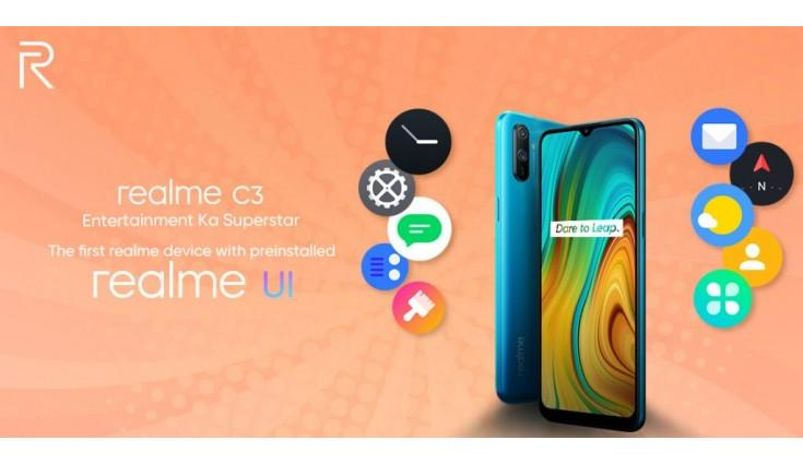 Highlights: Realme C3 launched at starting price of  Rs 6,999