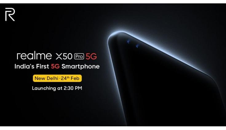 Highlights: Realme X50 5G launched in India, price starts at Rs 37,999