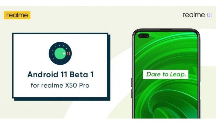 Realme X50 Pro Android 11 Beta 1 update rolls out in India