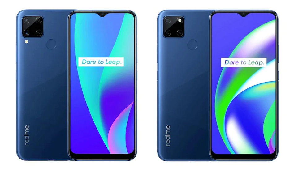 Realme C15, Realme C12 with 6000mAh battery launched in India, price starts Rs 8999