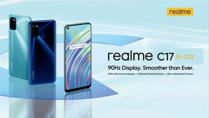 Realme C17 and many IoT products listed in Realme India's support page