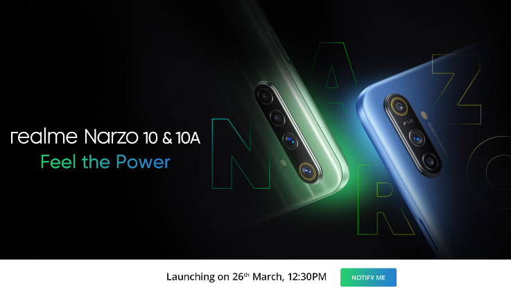 Is Realme Narzo 20 launching in India next month?