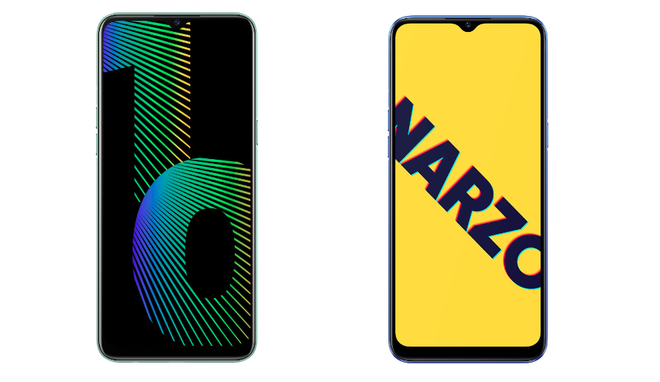 Realme Narzo 10 and Narzo 10A launched in India with 6.5-inch HD+ display and 5000mAh battery, price starts Rs 8,499