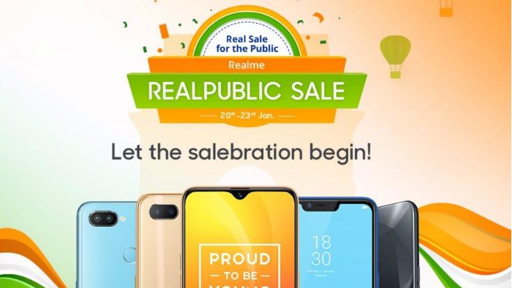Realme Republic Day  Sale: Top deals on Realme 2 Pro, Realme U1 and more