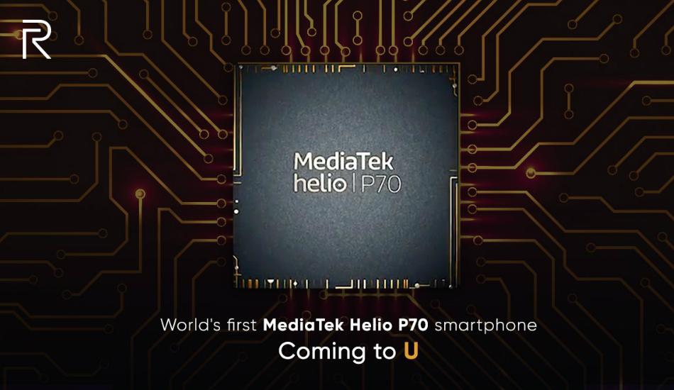 Realme teases upcoming U-series smartphone powered by MediaTek Helio P70