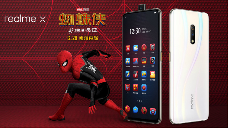 Realme X Spider-Man: Far From Home Special Edition goes official