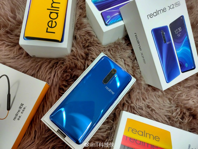 Realme X2 Pro live shots surface online ahead of launch on October 15