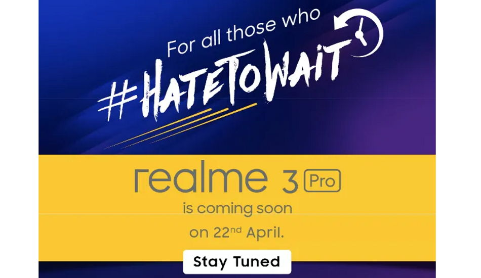 Realme 3 Pro to be Flipkart exclusive, tipped to come with Snapdragon 710 SoC, 3,960mAh battery
