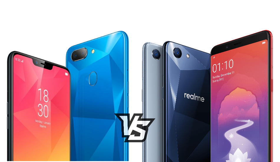 Realme 2 vs Realme 1: Rivals from the same root