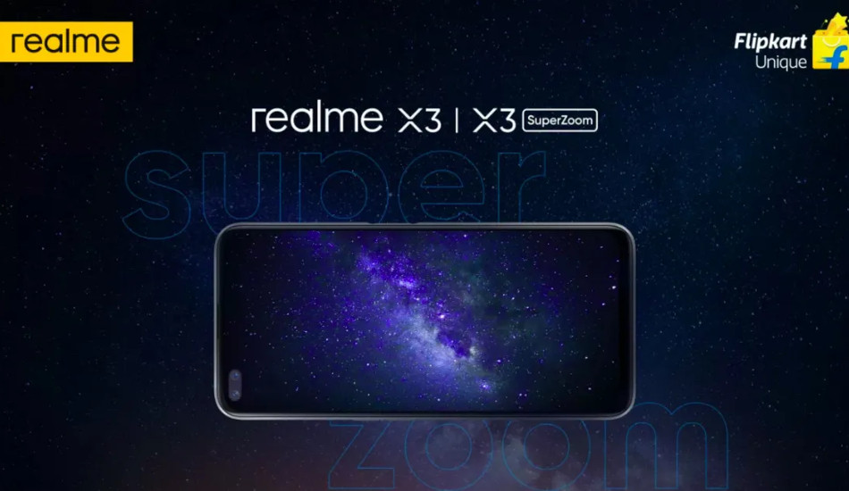 Realme X3 series confirmed to be Flipkart exclusive in India ahead of launch on June 25