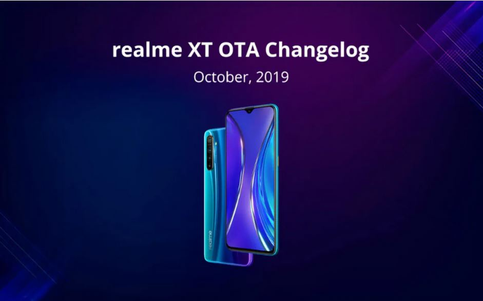 Realme XT starts receiving new update with Dark Mode, October Security Patch and more