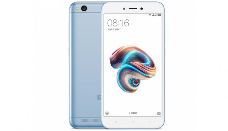 Xiaomi Redmi 5A Lake Blue Edition launched in India, to go on sale today
