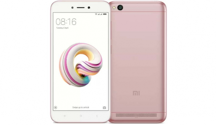 Xiaomi Redmi 5A Rose Gold variant launched in India