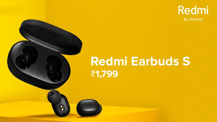 Redmi Earbuds S True wireless earbuds launched in India for Rs 1,799