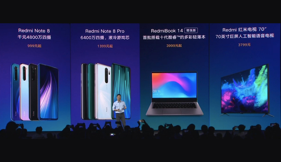 Redmi TV with 70-inch 4K screen, RedmiBook 14 Enhanced Edition launched