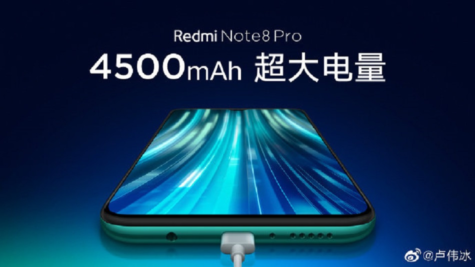 Redmi Note 8 Pro new teaser confirms 4500mAh battery, gaming accessories support, liquid cooling and more