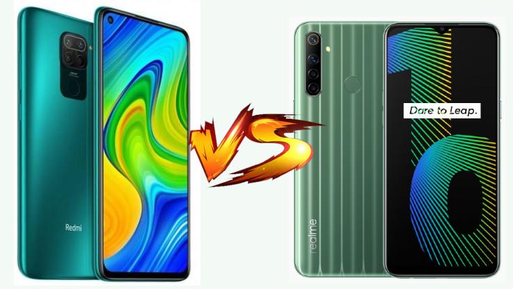 Redmi Note 9 vs Realme Narzo 10: Which one is better?