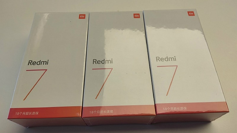 Redmi 7 confirmed to feature 4000mAh battery