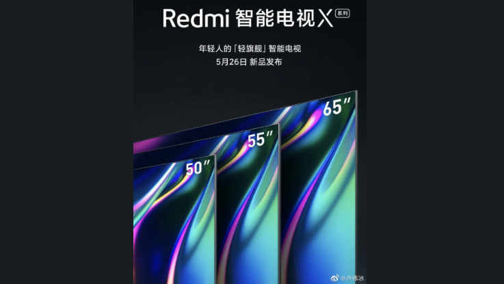 Redmi TV X-series to launch alongside Redmi 10X on May 26