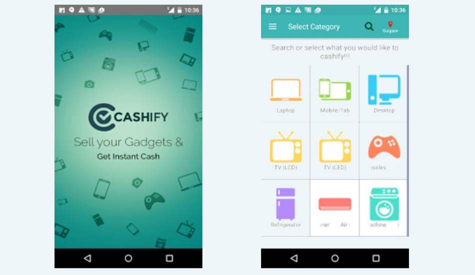 Now sell your old gadgets through ReGlobe's Cashify app