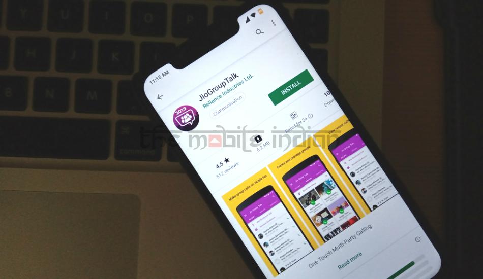 Reliance Jio introduces JioGroupTalk app for group calling through VoLTE