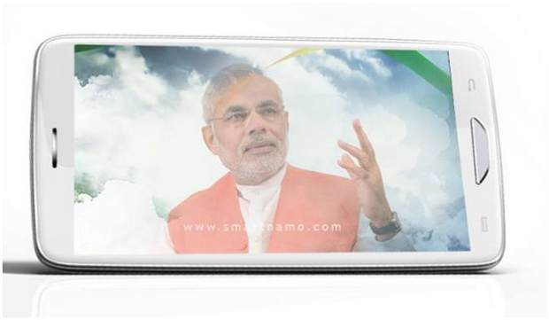 Three phones dedicated to Narendra Modi coming this Sunday