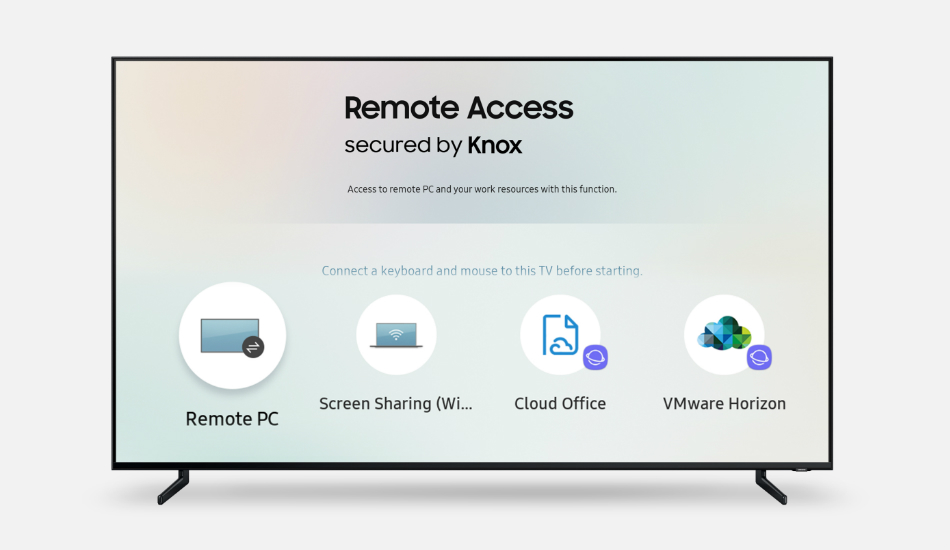 Samsung introduces Remote Access on Smart TVs  to control connected devices