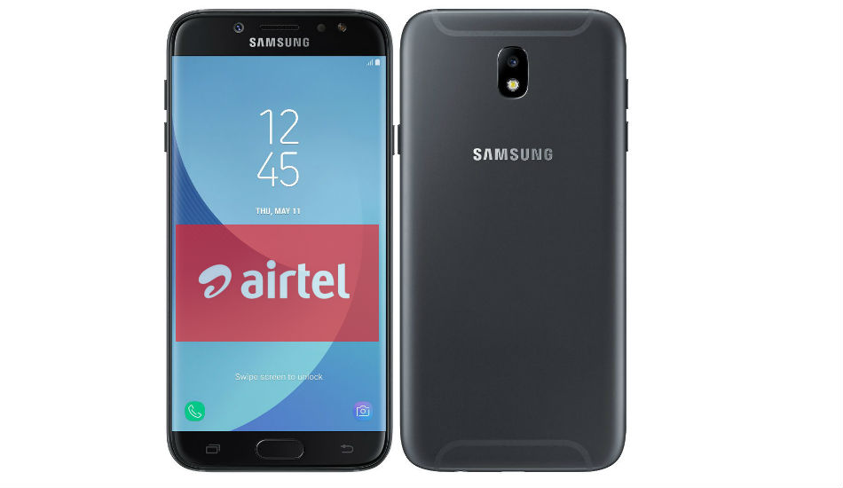 Airtel offers Rs 1,500 cashback on Samsung Galaxy J7 Pro, Galaxy J5 Prime and more