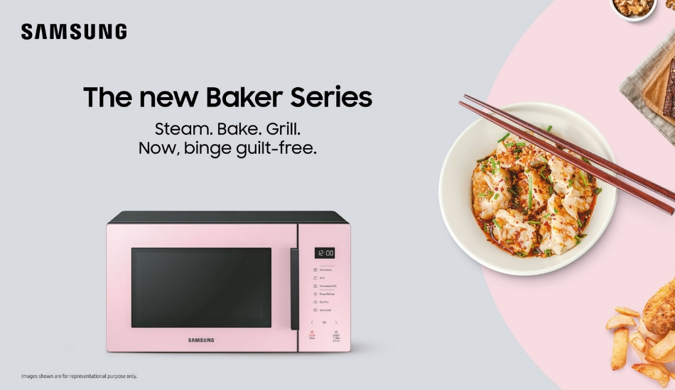 Samsung launches Baker Series microwaves with steaming, grilling, frying features