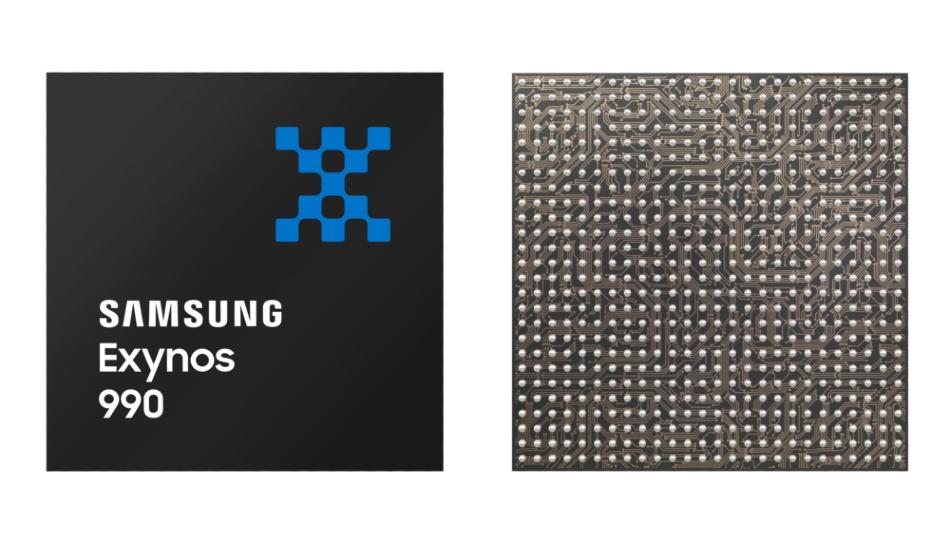 Samsung announces Exynos 990 7nm chipset, 5G Exynos Modem 5123, 12GB UFS 3.0 multichip