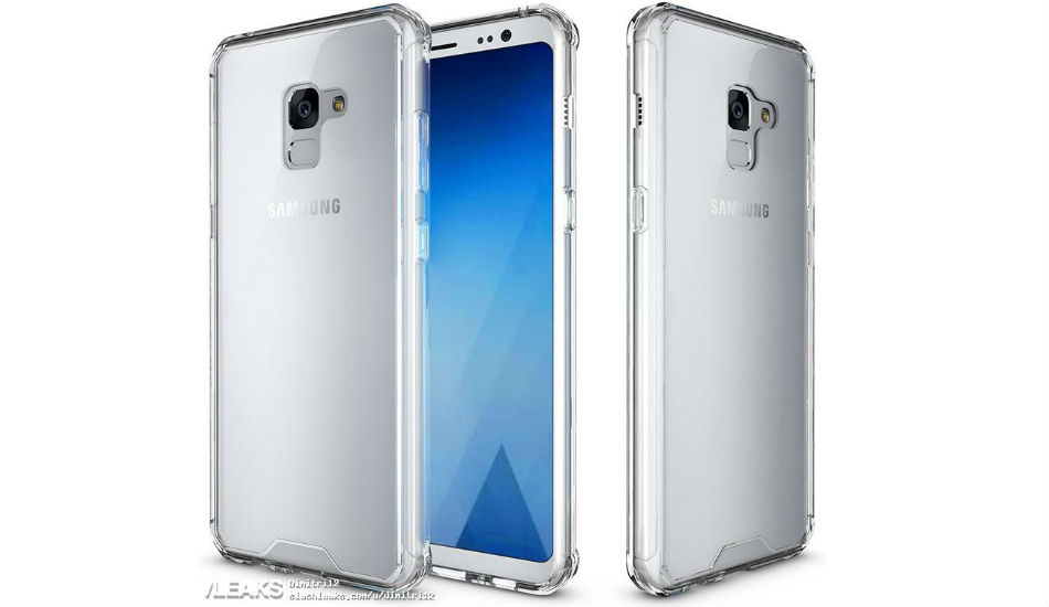 Samsung Galaxy A7 (2018) leaked press renders reveals bezel-less display and more