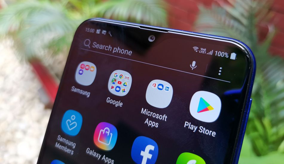 Samsung Galaxy M20 in Pictures