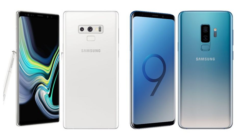 Samsung Galaxy Note 9 Alpine White, Galaxy S9+ Polaris Blue colour variants launched in India