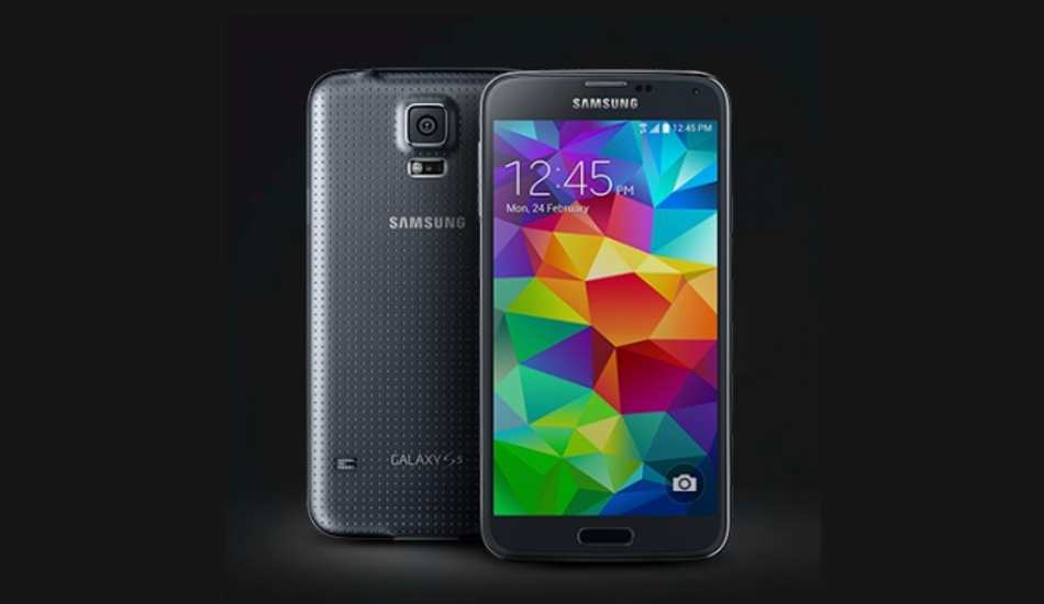 Samsung Galaxy S5 in pictures