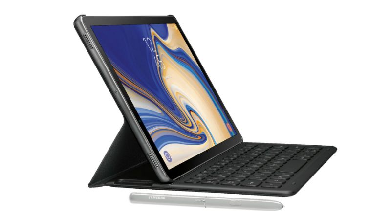 Samsung Galaxy Tab S4 press renders leaked, show S Pen and an optional keyboard