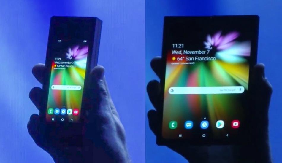 Samsung teases foldable smartphone, reveals Infinity Flex Display