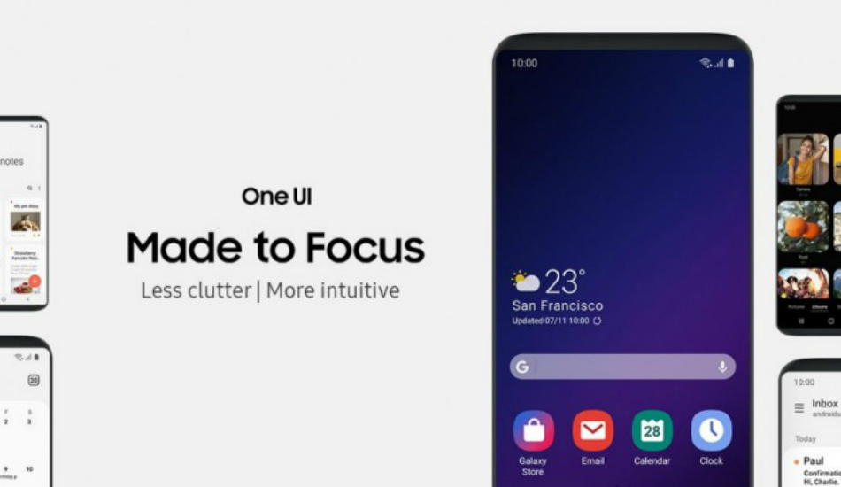 Android Pie update released for Samsung Galaxy S9, Galaxy Note 9 in India