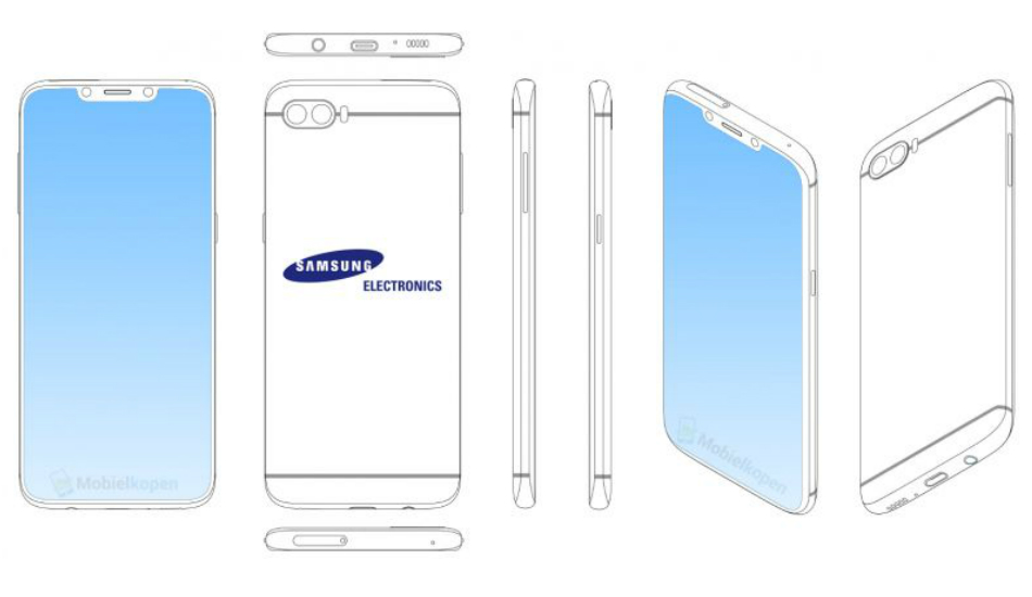 Is Samsung finally embracing the notch? Leaked patent says so