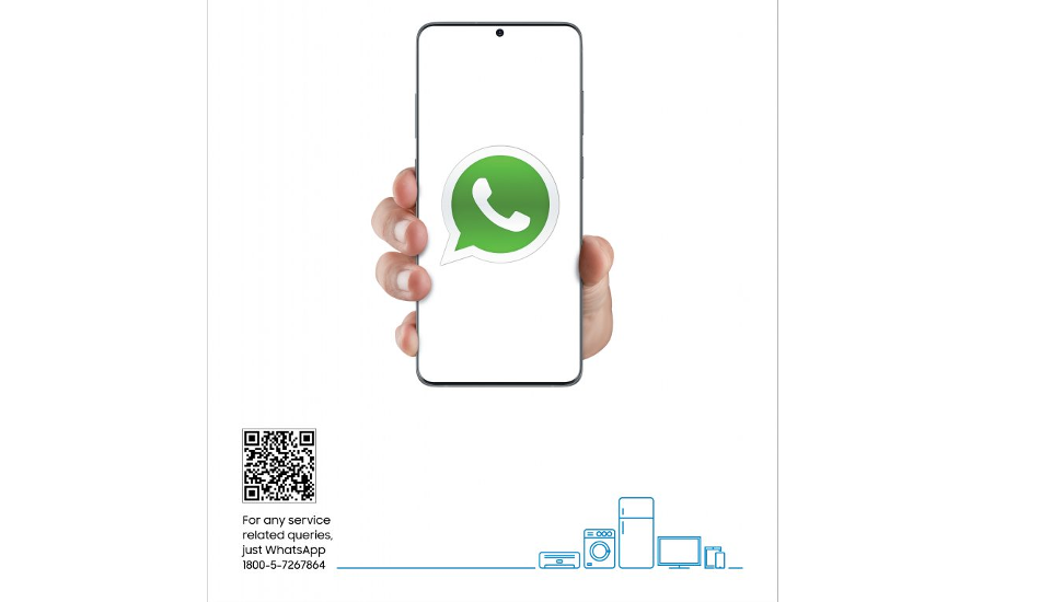 Samsung starts offering customer support through WhatsApp