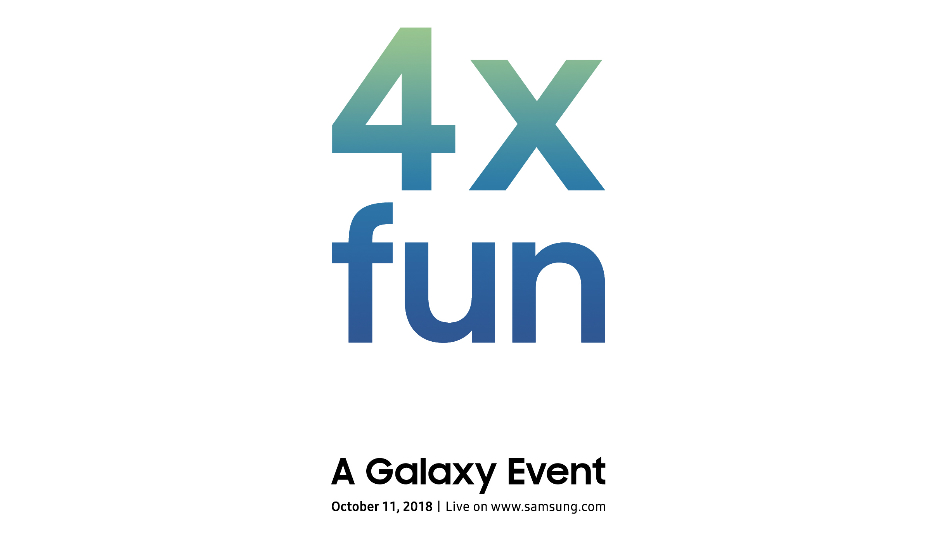 """Samsung sets October 11 for """"4X fun"""" Galaxy event, is it a new smartphone?"""