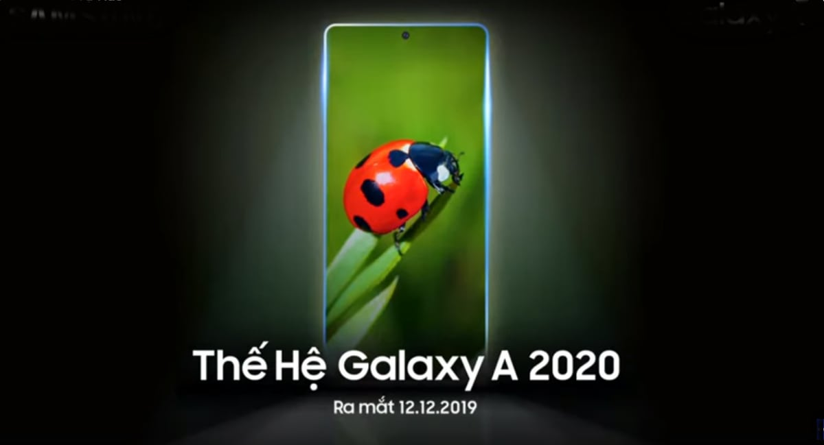 Samsung Galaxy A 2020 series launching on December 12