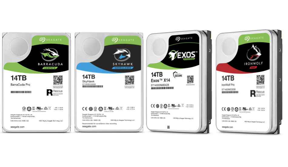 Seagate announces a new line of 14TB data drives