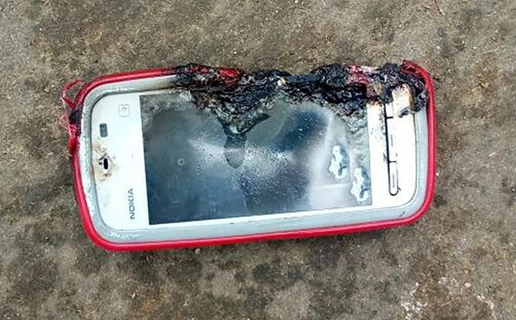 Indian teen dies after smartphone explodes during a call